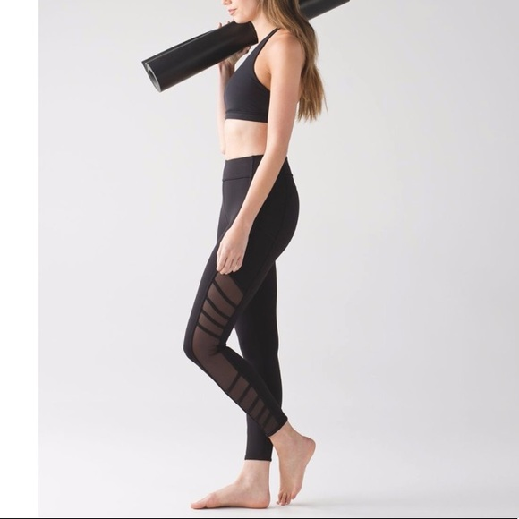 Lululemon Athletica Pants Jumpsuits Lululemon Wild Free Leggings In Black Poshmark
